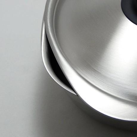 柳宗理 ステンレス片手鍋 18cm ふた付き つや消し