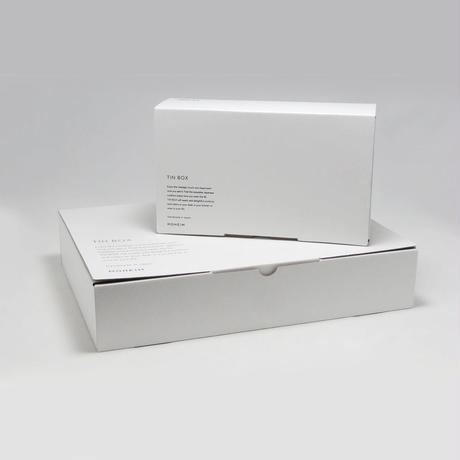 MOHEIM TIN BOX (Mサイズ / ネイビー)