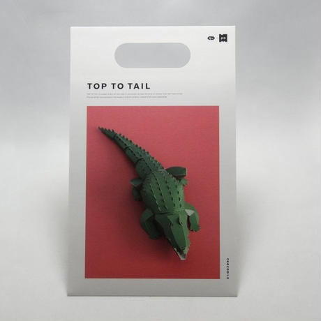 gu-pa TOP TO TAIL ワニ
