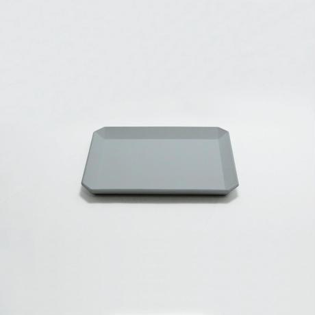 """1616/arita japan TY """" Standard"""" スクエアプレート 165  Gray"""