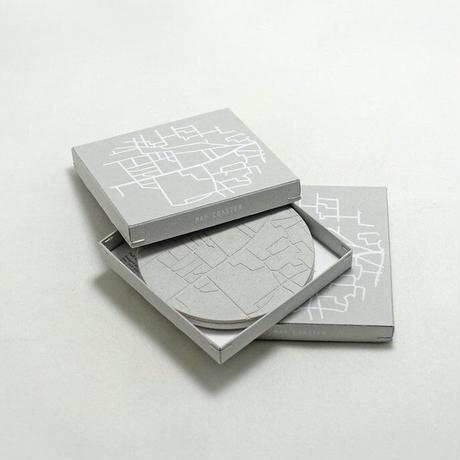 [Motif/Pull Push Products.] MAP COASTER Mサイズ