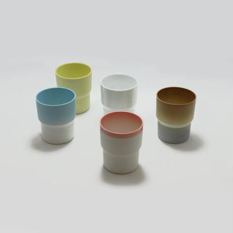 "1616/arita japan  S&B ""Colour Porcelain"" マグ Light Brown"