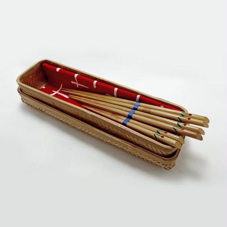 雅竹 花柄箸 (大)