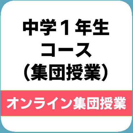 【集団授業】中学1年生コース(週4回)※税込
