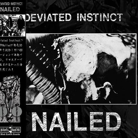 DEVIATED INSTINCT - Nailed CD + Postcard (Black Konflik)