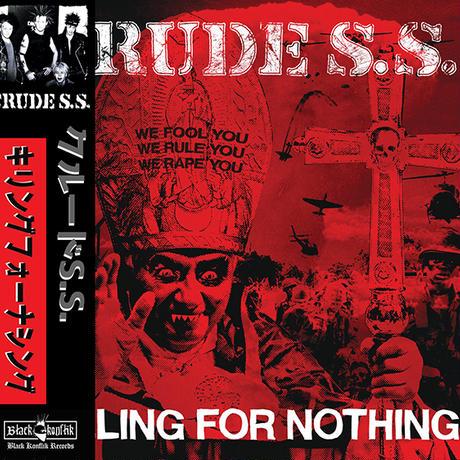 CRUDE S.S. - Killing For Nothing CD (Black Konflik)