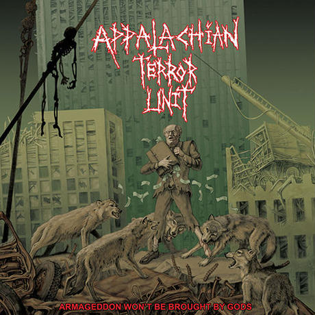 "APPALACHIAN TERROR UNIT - Armageddon Won't be Brought by Gods​.​.​.​ 7""EP (Profane Existence)"