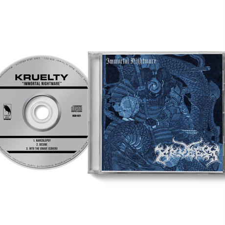 KRUELTY - Immortal Nightmare CD (Dead Sky Recordings)
