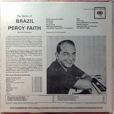 Percy Faith & His Orchestra ‎– The Music Of Brazil!