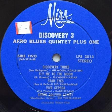 Afro Blues Quintet Plus One ‎– Discovery 3