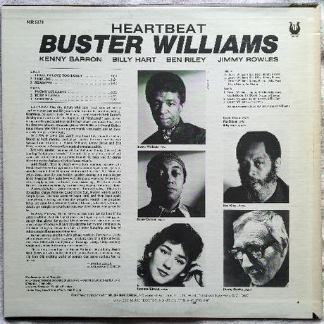 Buster Williams – Heartbeat