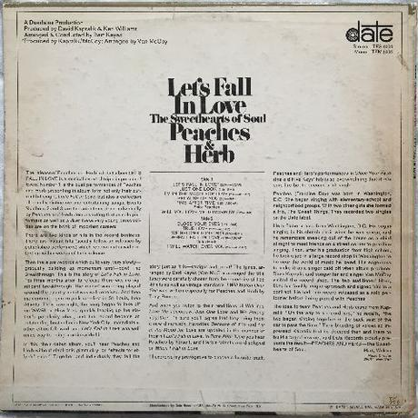 Peaches & Herb ‎– Let's Fall In Love
