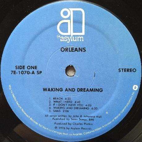Orleans ‎– Waking And Dreaming