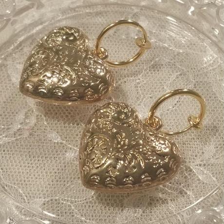 heart cloche(earring)