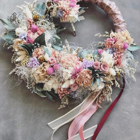 order wreathebouquet+boutonniere