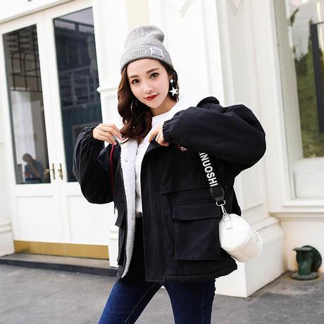 レディース ボアブルゾン ボアコート ロングコート ボアコート コート ロング丈コート 大きいサイズ 可愛い 韓国ファッション K30107