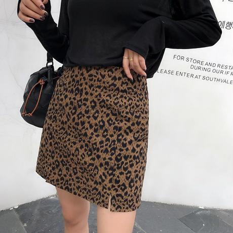トレンドのレオパード柄*゜ミニスカート 秋 冬 アニマル柄 ミニ丈 オルチャン 韓国 ファッション S2015