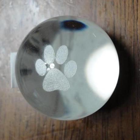 ガラス ペーパーウェイト 球体