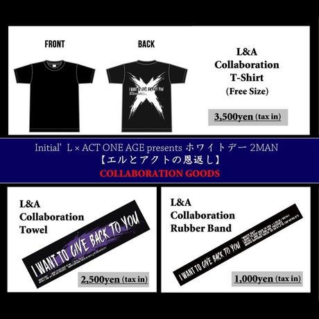 L&AコラボTシャツ