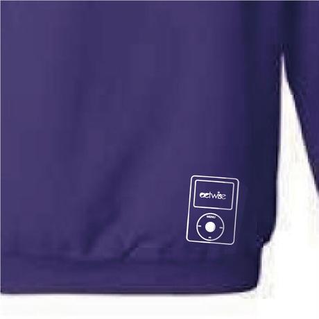 actwise  logo hoodie  (PURPLE)
