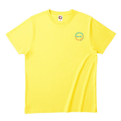 actwise x Portable Music PlayerTシャツ(LIGHT YELLOW)