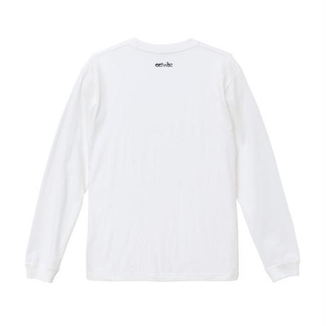 かわうそカート ロンT(ホワイト)