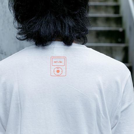 actwise x Portable Music PlayerTシャツ(WHITE)