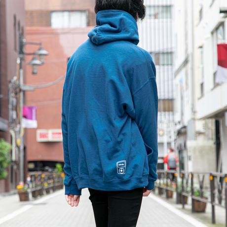 actwise  logo hoodie  (LEGION BLUE)