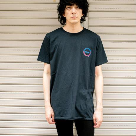 actwise x Portable Music PlayerTシャツ(BLACK)
