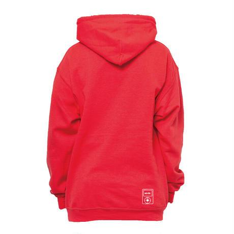 actwise  logo hoodie  (PAPRIKA)