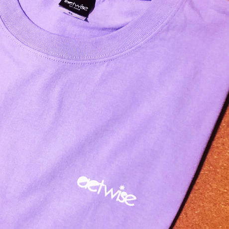 actwise  ロゴTシャツ(ライトパープル)