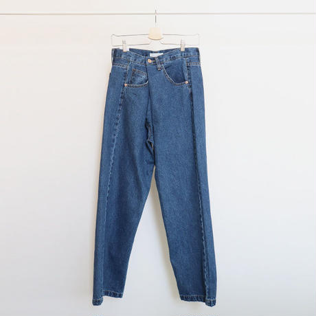 deep pintuck denim