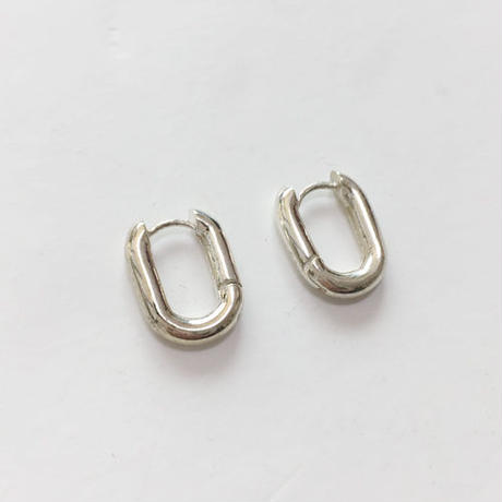-silver 925- U pierced earrings