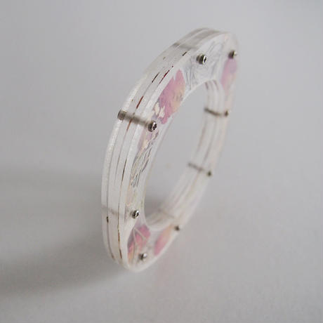 / watering / layered memories bangle -裏庭 no.1955-