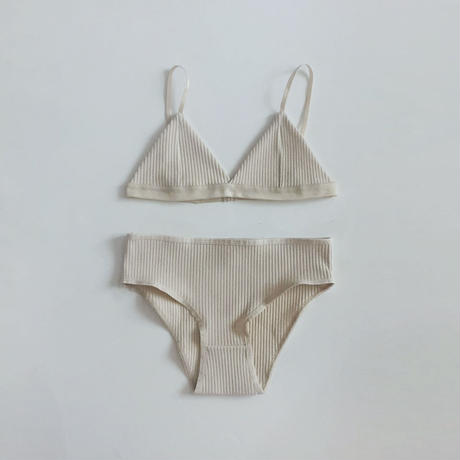 -2 colors- no wire soft underwear set