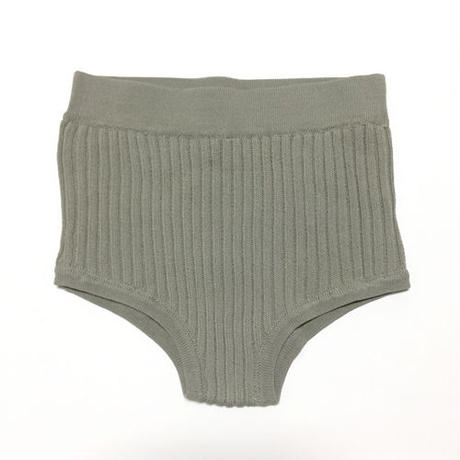 !再入荷待ち! -3 colors- dull color knit bikini