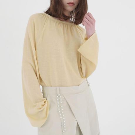 -4 colors- gather neckline knit & sew