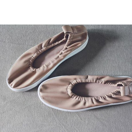 -2 colors- shirring leather shoes for mom