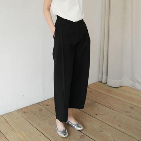 outtuck cotton long pants