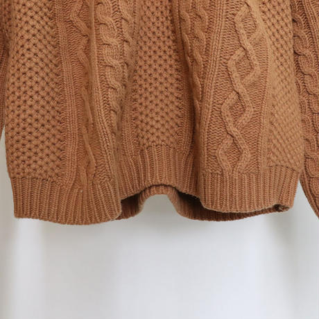 [ sample SALE ] butter cable knit