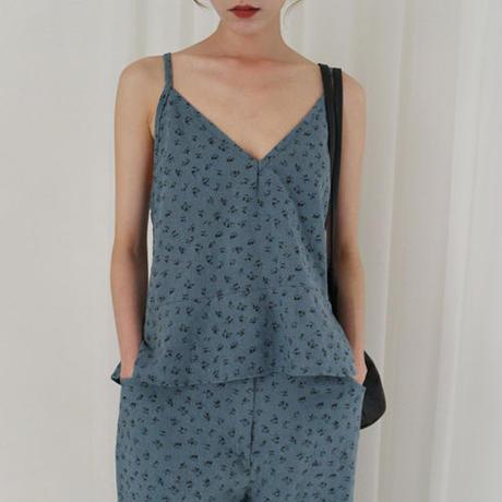 summer flower linen camisole (set item)