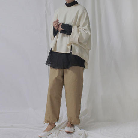-2 colors- draw string work pants