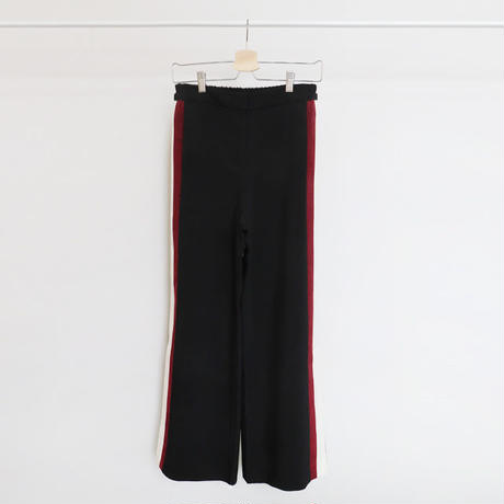 side slit line pants