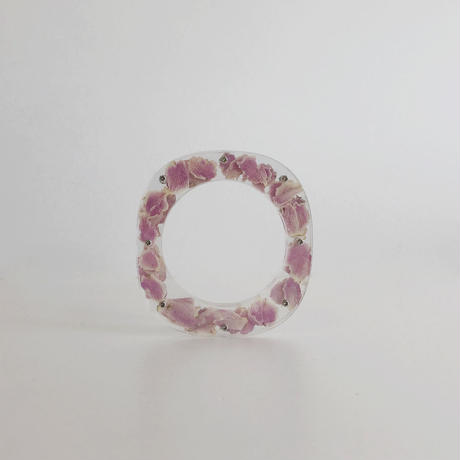 / watering / layered memories bangle -pink rose no.1943-