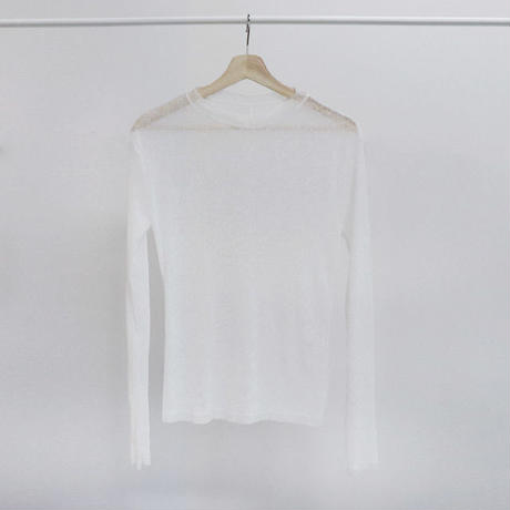 [ sample SALE ] obscured fabric tee