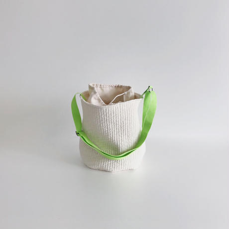 neon strap quilting bag
