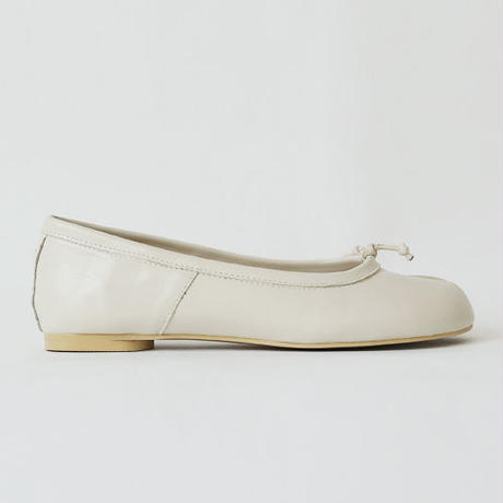 "!再入荷!""TABI"" flat leather shoes"