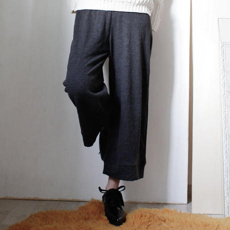 smooth sweat cropped pants