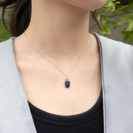 perfume bottle series necklace <lapis lazuli>