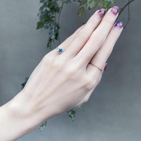perfume bottle series earcuff Msize<london blue topaz>